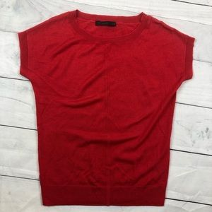 The Limited Wool Short Sleeve Tee Shirt Pullover